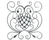 De Omheining van de Decoratie van het smeedijzer voor het Ornament van de Tuin