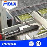 Câmara de jateamento de areia de Estruturas de aço com sistema de reciclagem automática