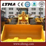 Traitement de bloc chargeur de roue de chariot élévateur de 25 tonnes avec la position