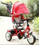 Triciclo ajustable del bebé de la seguridad del asiento de la nueva manera