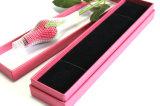 El papel de regalo de joyas Joyas de madera Caja de almacenamiento del rectángulo de cartón pendientes de verificación (Ysn1)