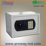 Caixa de segurança eletrônica eletrônica para jóias caseiras e dinheiro
