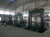 máquina caliente de la prensa 600tons para hacer la madera contrachapada decorativa