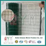 Il PVC di Qym ha ricoperto la rete fissa saldata Europa della rete metallica della rete fissa del campo