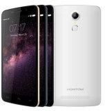 Homtom Ht17 androïde de 5.5 pouces 6.0 IPS de 1280*720 Mtk6737 de quarte du faisceau 1GB+8GB 3000mAh 13MP OTG de l'empreinte digitale 4G de LECTEUR DE DISQUETTES de téléphone mobile de couleur de blanc