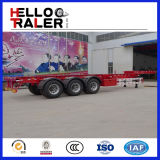 2016 neue 40FT Tri Axles Skeleton Container Trailer für Sale