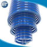 Claro de hélice de PVC corrugado de succión de agua piscina de la manguera de descarga