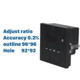 Le plus idéal AC Ampèremètre numérique à phase unique de régler le ratio actuel de l'exactitude zéro virgule deux pour cent le trou 67*67mm Gamme 0-9999un