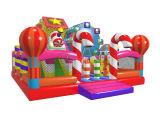 Candy château gonflable Course à obstacles pour les enfants Chob561