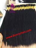 De Massa van het haar, het Maagdelijke Menselijke Haar Remy van 100%, Aangepaste Orde is Beschikbaar, de Uitbreiding van het Haar