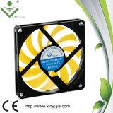 Ventilateur de refroidissement sans frottoir axial de caisse d'ordinateur du ventilateur 12V 24V de C.C de Xyj8010h 80X80X10mm