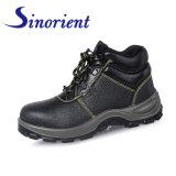 Sapatas de segurança de couro para os homens do trabalho e as mulheres Rh064