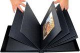Negro clásico cartón álbum de fotos