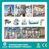 Chaîne de production en bois complète de moulin de granule de capacité élevée