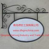 Venda a quente de ferro lateral duplo outdoors publicitários estruturais de aço