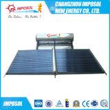 Chauffe-eau solaire populaire de caloduc d'acier inoxydable du marché