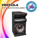 Voz pasiva bidireccional de Vrx932la rectángulo del altavoz de DJ de 12 pulgadas
