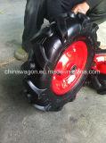 Rotella di gomma dell'aria del reticolo del trattore di agricoltura, pneumatico 4.00-8 della carriola