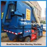 Stahlplatten-populäre horizontale Oberflächen-Reinigungs-Granaliengebläse-Maschine