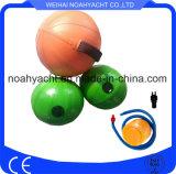 Bolas de playa coloridas inflables del PVC de la Caliente-Venta para la venta con o sin las manetas
