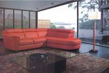 Sofa faisant le coin sectionnel en cuir moderne pour le divan de salle de séjour