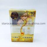 Изготовленный на заказ коробка пластичный упаковывать для косметики, внимательности кожи, состава