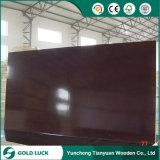 La película barata del precio de 12 de x 1220 x de 2440m m hizo frente a la madera contrachapada del encofrado para el edificio