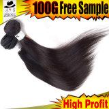 613# brésilien de Remy Hair droites naturelles