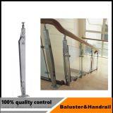 Residential Indoor balustrade en verre pour le Balcon de la main courante en acier inoxydable
