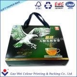 Цвет магазинов бумажный мешок печать логотипа для чая подарки