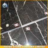 Mattonelle di marmo dirette di Nero Marquina della fabbrica