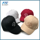 el algodón no estructurado del bordado 3D se divierte el sombrero de la gorra de béisbol del Snapback
