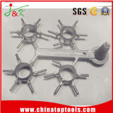 Stahlpräzisions-Gussteil Druckguß für Maschinerie-Teile