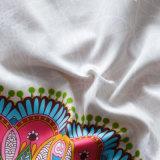 Estilo clássico americano Conjunto de tampa edredão de algodão impressa