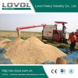 Lovol cosechadora de arroz de alta elevación de la descarga