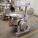 Gás da fonte da fábrica aquecido cozinhando a máquina do misturador