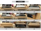 二重ロックシステム垂直4引出しのファイルキャビネット