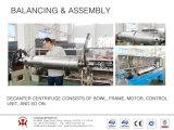 De karaf centrifugeert voor de Scheiding van de Eetbare Olie de Horizontale spiraal centrifugeert