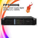 Amplificador de potencia profesional del canal de Fp10000q 4
