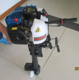 Outboard Motor with Air Cooling