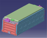 sistema di conservazione dell'energia della batteria di litio di alta qualità 2mwh (ESS)