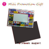 Factory Cheap High Quality Paper Soft Memo Note Book Fridge Magnet