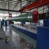 Máquina de bobinado del tubo de plástico reforzado con fibra Conjunto equipo de producción de tubos de plástico reforzado con fibra de la máquina de bobinado