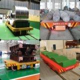 Вагонетка пользы металлургии железнодорожная плоская для фабрики и пакгауза
