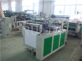 Automatische Heißsiegelfähigkeit-und kalter Ausschnitt-Beutel, der Maschine für flachen Beutel herstellt