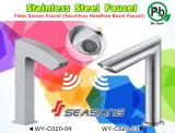 Rubinetto di acqua automatico del sensore del bacino del lavabo della stanza da bagno dell'acciaio inossidabile