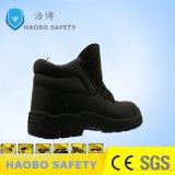 De zwarte Uitvoerende Schoenen van de Bedrijfsveiligheid van de Schoenen van de Veiligheid
