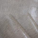 Cor de casal grande relevo de grãos de lagarto PU couro artificial
