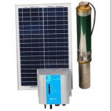 Sistema de bomba de agua solar 4 pulgadas de la bomba de agua solar