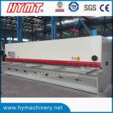 QC11Y-10X6000 guilhotina hidráulica máquina de corte de cisalhamento